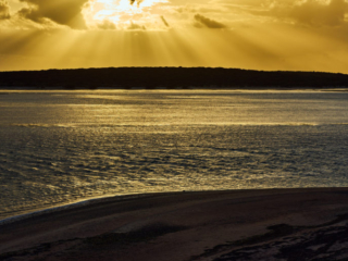 Sunset Big Lagoon - 7878